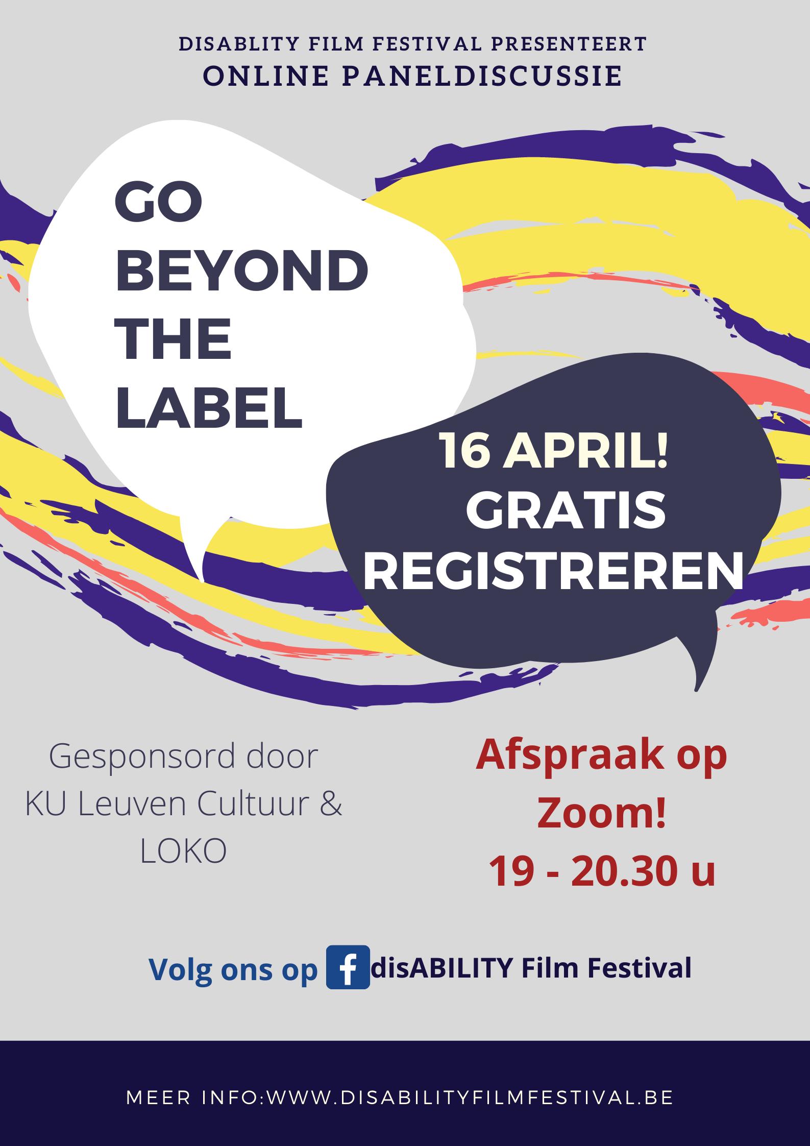 Go beyond the label - online paneldiscussie